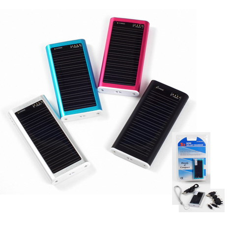 Mini Solar Charger (Aluminum Case)